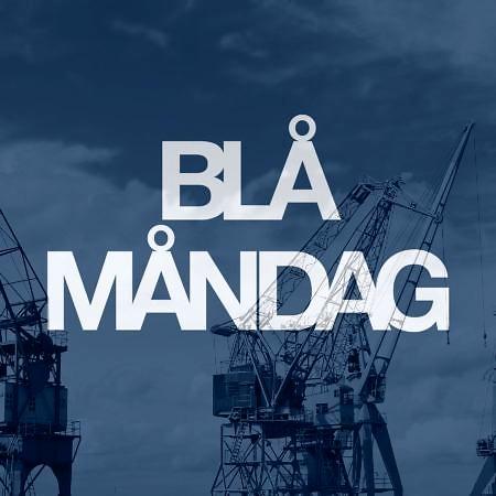 Logo Blå måndag